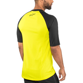 Alpinestars Trailstar Jersey korte mouwen Heren, acid yellow/black